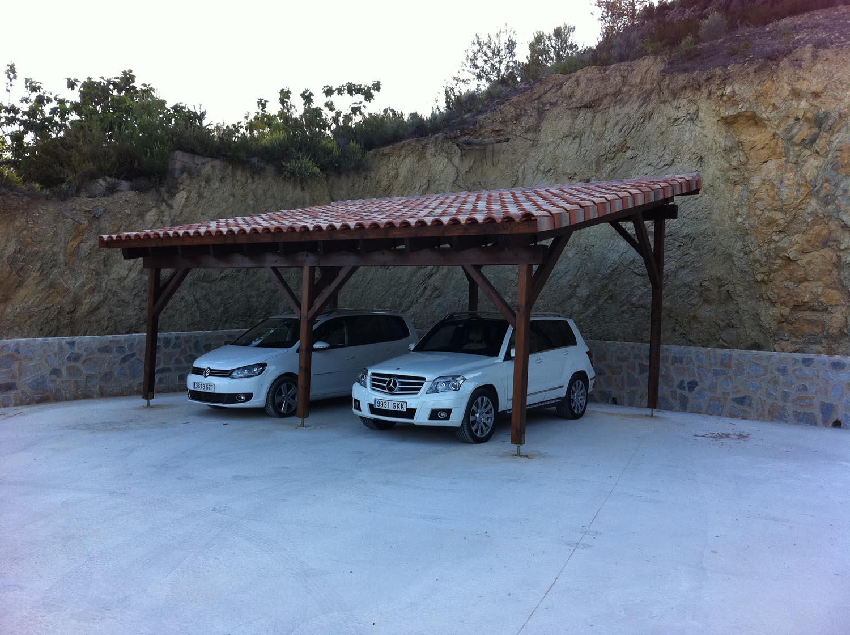 Garajes for Cubiertas para garajes