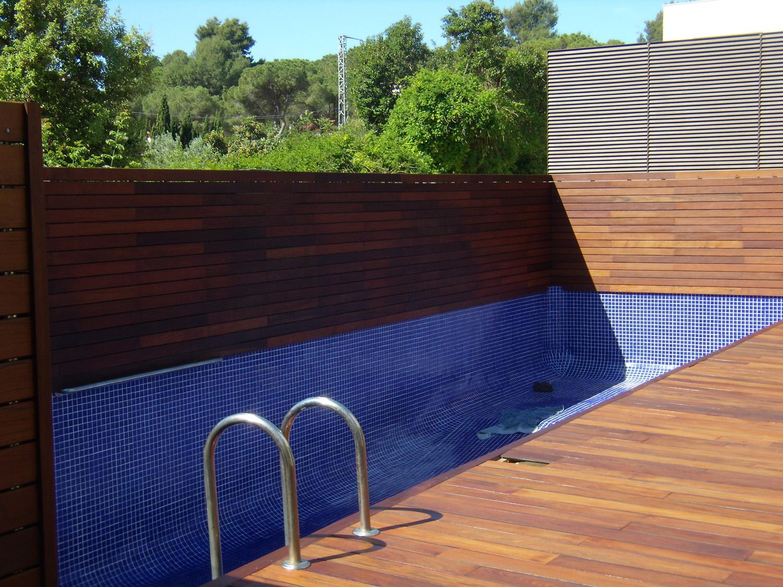Tarimas de exterior para terrazas y piscinas