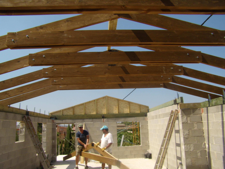 Tejados de madera for Tejados de madera antiguos