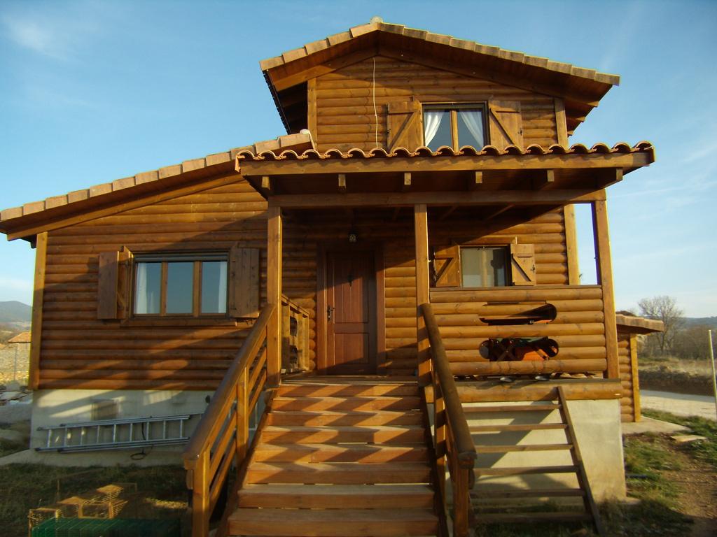 Casas prefabricadas casas de madera for Casas prefabricadas madrid