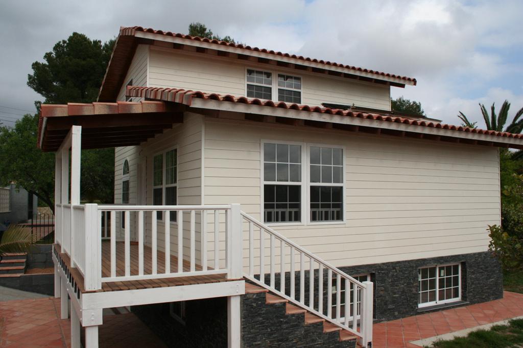 Casas de madera en valencia great casa de madera de - Casas de madera segunda mano valencia ...
