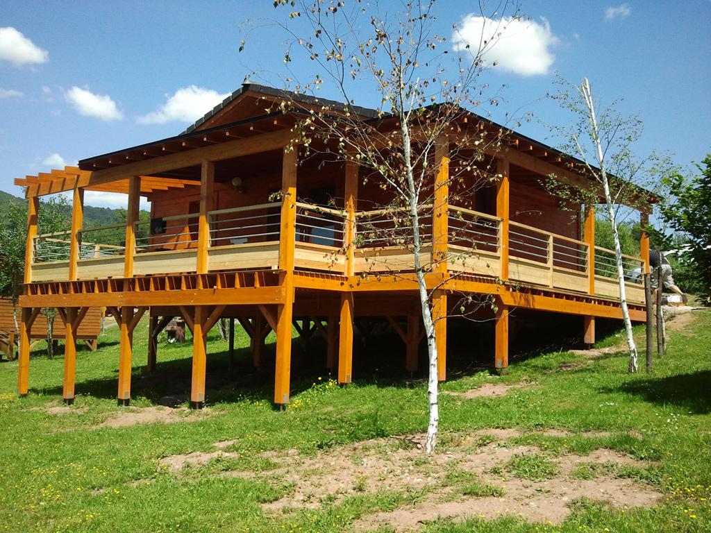 Casas prefabricadas casas de madera - Refugios de madera prefabricados ...