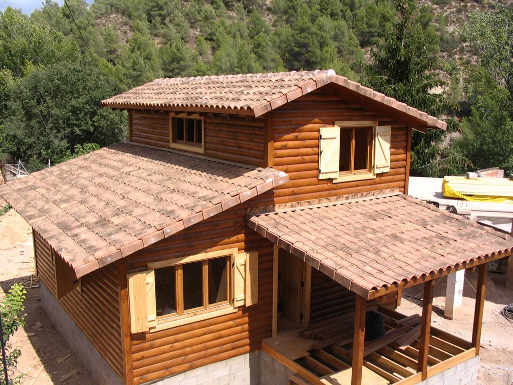 Casas prefabricadas casas de madera - La casa de madera valencia ...