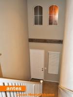 Altillo-Estudio sobre hueco de escalera. Madrid